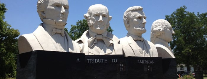 A Tribute to American Statesmanship is one of Places To Visit In Houston.