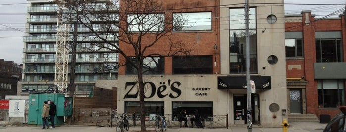 Zoe's Bakery Cafe is one of Food.