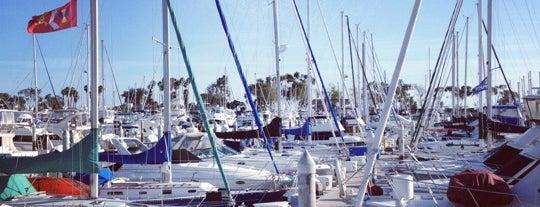Dana Point Marina is one of Lugares favoritos de Tim.