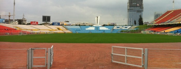 Ramat Gan Stadium is one of Soccer Stadiums.