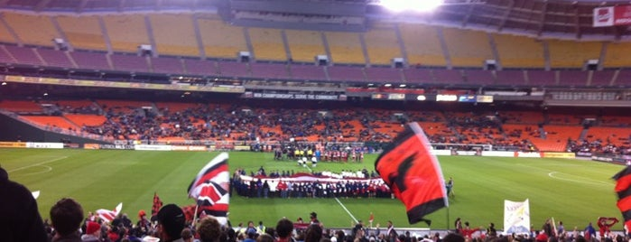 RFK Stadium is one of Games Venues.