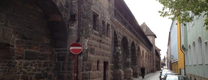 Frauentormauer is one of Nürnberg, Deutschland (Nuremberg, Germany).