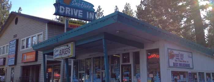 Sno-Flake Drive-In is one of tahoe to do.