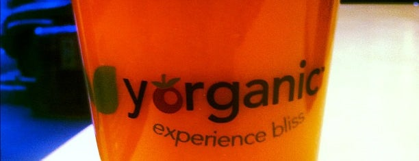 Yorganic is one of NYC: Fast Eats & Drinks, Food Shops, Cafés.