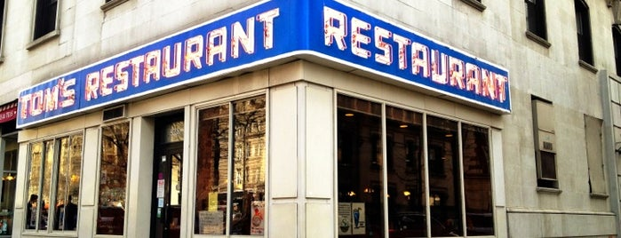 Tom's Restaurant is one of nueva york.
