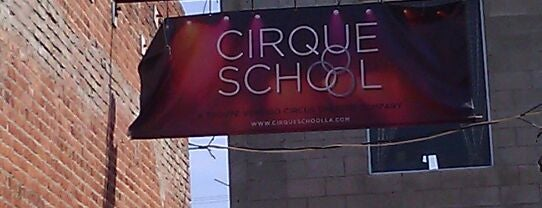 Cirque School is one of LA Outings.