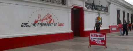 Casa de Gobierno del Estado Sucre is one of Sitios Históricos y Culturales de Cumaná.
