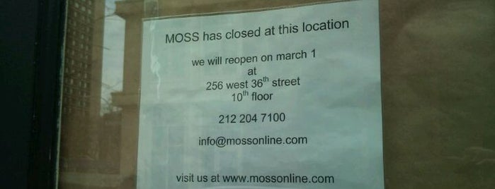 Moss is one of Guide to New York's best spots.