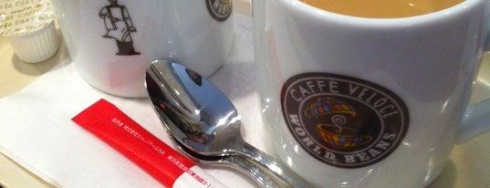 Caffe Veloce is one of Tempat yang Disukai 西院.