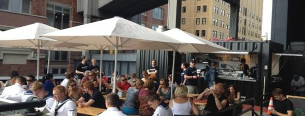 Terroir at The Porch is one of NYC Best Outside/Rooftop Bars.