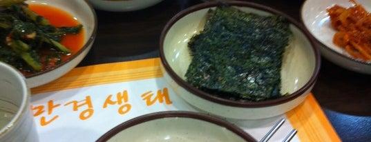 만경생태 is one of Seoul: Restaurants - Seafood.