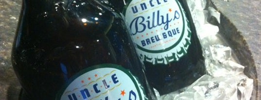 Uncle Billy's Brew & Que is one of Places to eat.