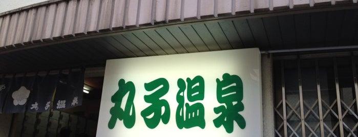 丸子温泉 is one of Favorite Great Outdoors.