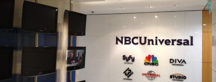 NBCUniversal is one of Gespeicherte Orte von Pat.