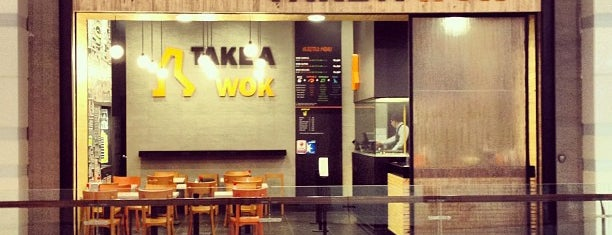 Take a Wok is one of Lugares favoritos de Pedro.