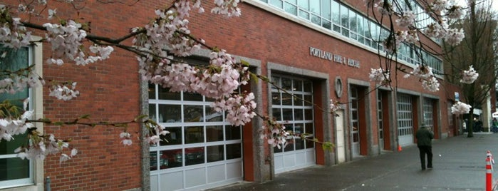 Portland Fire & Rescue Station 1 - Old Town is one of Portland Fire & Rescue.