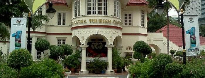 Malaysia Tourism Centre (MaTiC) is one of Fanático pelo o Foursquare.