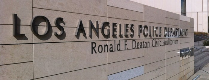 Los Angeles Police Department Memorial Wall is one of LA   Next.