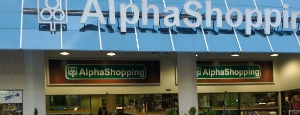 AlphaShopping is one of Shoppings SP.