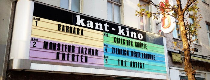 Kant-Kino is one of nice cinemas.