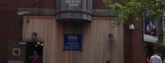 Samuel Adams Brewery is one of Breweries I've Visited.