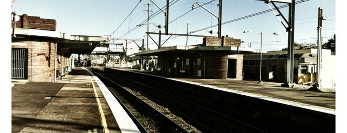 Clyde Station is one of Sydney Train Stations Watchlist.
