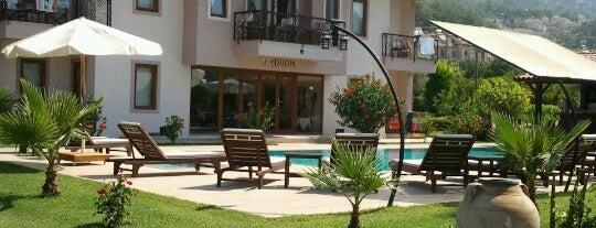 Göcek Arion Hotel is one of สถานที่ที่บันทึกไว้ของ Emre.