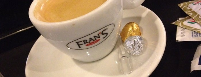 Fran's Café is one of for the mouth.