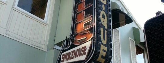 Lucille's Smokehouse Bar-B-Que is one of LB Food Favz.
