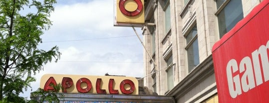 Apollo Theater is one of Partners in Preservation-New York City.