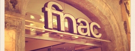 Fnac is one of porto.