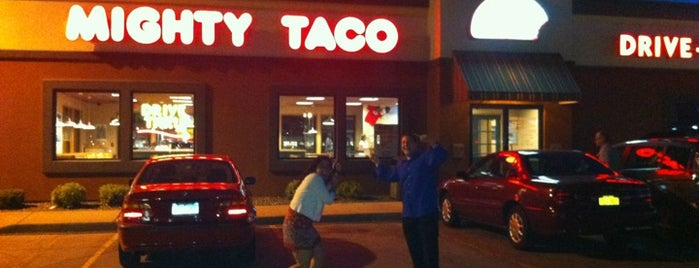Mighty Taco is one of Posti salvati di Christopher.