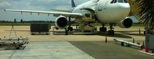 ท่าอากาศยานขอนแก่น (KKC) is one of AIRPORT.