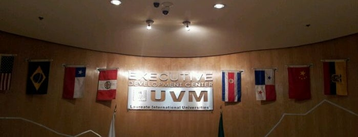 UVM Santa Fe Executive Development Center is one of Universidades en D.F. Occidente.