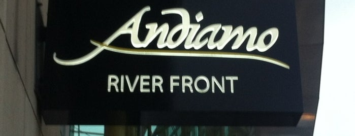 Andiamo Detroit Riverfront is one of Michigan.