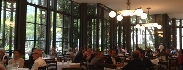 Bryant Park Grill is one of NYC Midtown.