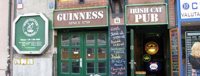 Irish Cat Pub is one of Nemzetközi kocsmalista.