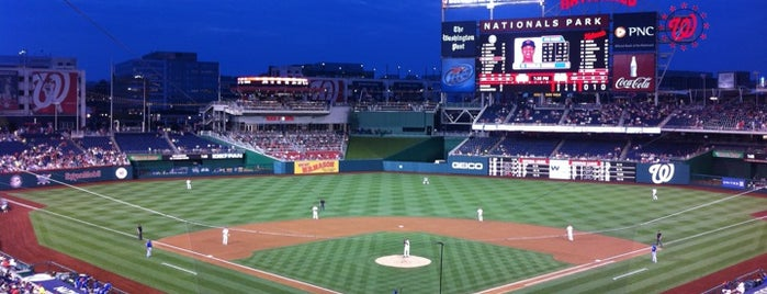 Nationals Park is one of The #AmazingRace 22 map.