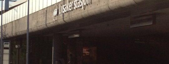 Lysaker stasjon is one of faenza.