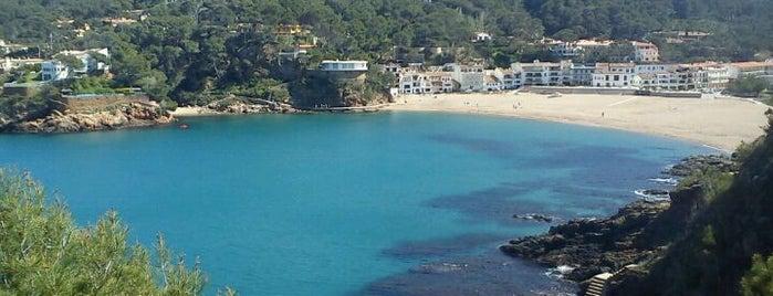 Playa Sa Riera is one of Playas de España: Cataluña.