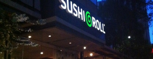 Sushi Roll is one of Locais curtidos por Lorena.
