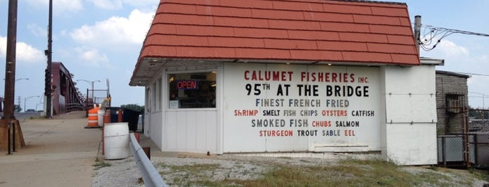 Calumet Fisheries is one of Chi.