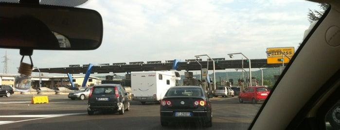 A1 - Orte is one of Autostrada A1 - «del Sole».