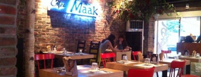 CHEZ MAAK is one of Seoul eats.