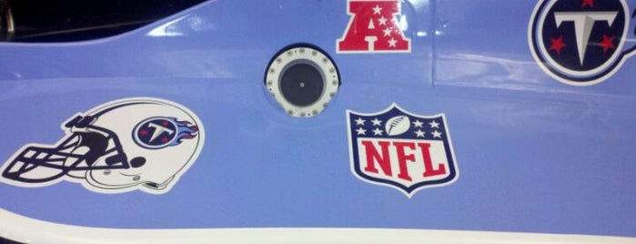 Tennessee Titans Super Car is one of Super Cars #VisitUS.