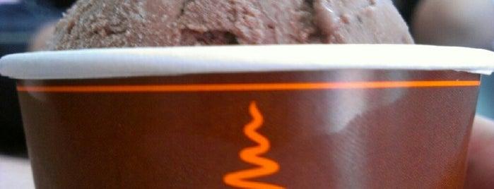 Manger des glaces artisanales Giangrossi à Madrid
