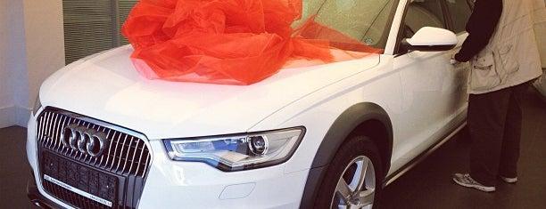 Audi is one of Posti che sono piaciuti a AE.