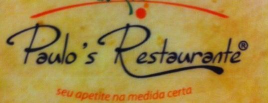 Paulo's Restaurante is one of Locais curtidos por Vanessa.