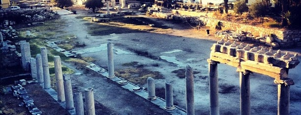 Roman Agora is one of Athen.