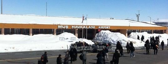Muş Sultan Alparslan Havalimanı (MSR) is one of Türkiye'deki Havalimanları.